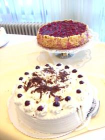 Besonders beliebt beim Kaffeekränzle: Schwarzwälder Kirsch und andere Torten. Foto: Strickroth