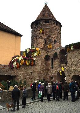Freundeskreis Altenhilfe bei der Chrysanthema 2015 in Lahr